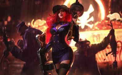 Miss fortune league of legends guns rain