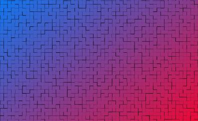 Squares lines abstract 5k