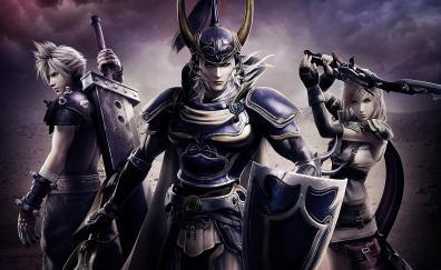 Dissidia final fantasy nt warriors