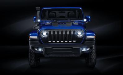 Jeep wrangler unlimited 4x4 moparized 4k