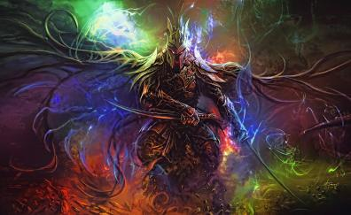 Fatansy art warrior