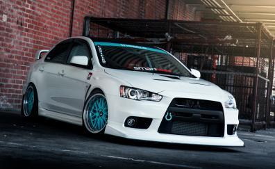 Mitsubishi sports car