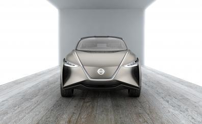 Nissan imx kuro concept front geneva carshow 4k