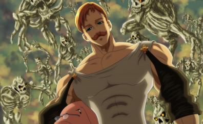 Anime boy escanor the seven deadly sins