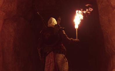 Inside cave assassins creed origins