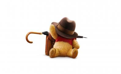 Christopher robin teddy winnie the pooh animation movie