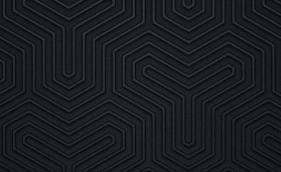 Black design pattern abstract