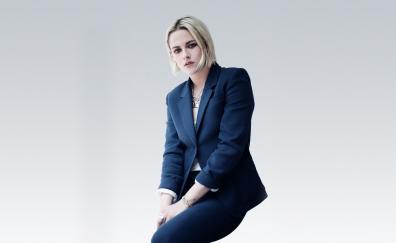 Kristen Stewart, actress, blue suit