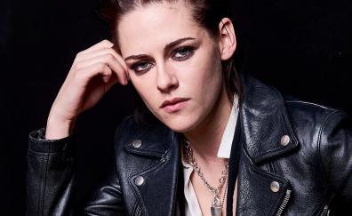 Leather Jacket, Kristen Stewart, actress