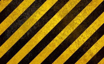 Yellow stripes digital art