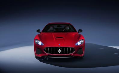 Maserati GranTurismo, sports car, front view