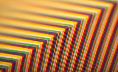 Fabric arrangment colorful