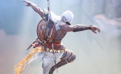 Warrior jump assassins creed origins
