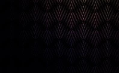 Neon stripes dark abstract