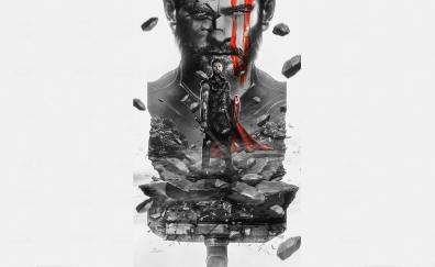 Thor: Ragnarok, Thor, minimal, artwork
