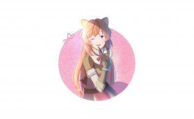 Cute, Raphtalia, artwork, anime girl