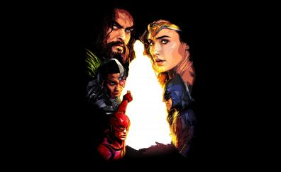 Justice league 2017 minimal