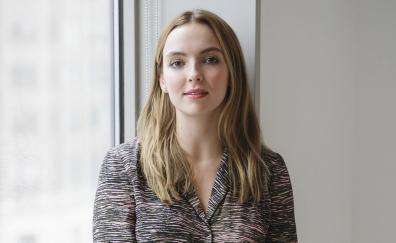 Jodie comer long hair blonde actress