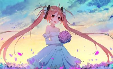 Wedding dress enju aihara cute