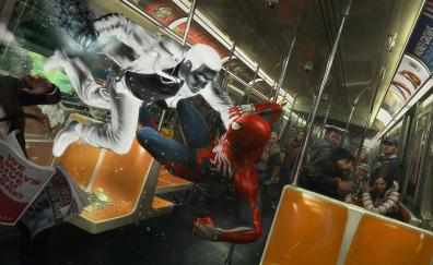 Spider man ps4 video game 2018