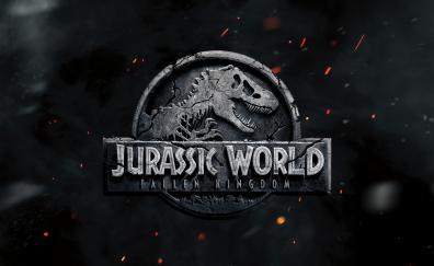 Jurassic world fallen kingdom 2018 poster 5k