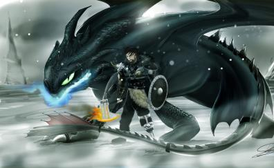 Dragon hiccup art