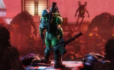 Doom, 2016 game, warrior
