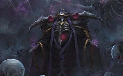 King overlord anime art