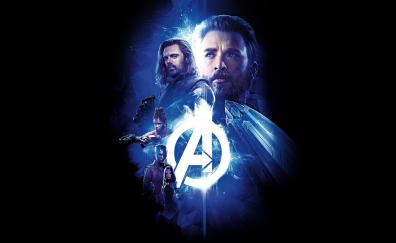 Avengers infinity war minimal