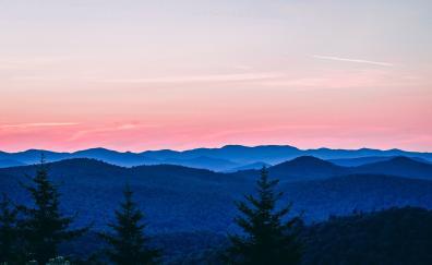 Dawn horizon sunrise