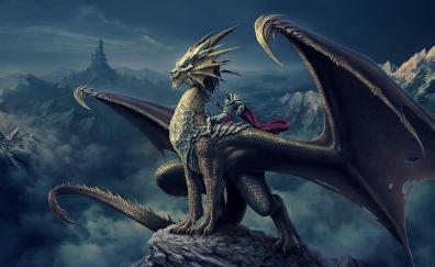 Dragon knight fantasy art