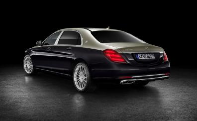 Mercedes benz maybach s 560 2018 rear