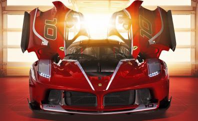 Ferrari fxx k supercar 4k