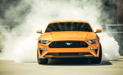 2018 ford mustang gt fastback sports car 4k
