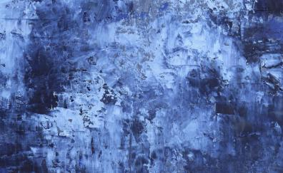 Abstract blue texture paint