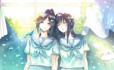 Cute anime girls mizore yoroizuka nozomi kasaki