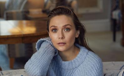 Elizabeth olsen 2018 brunette