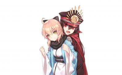 Demon archer and sakura saber