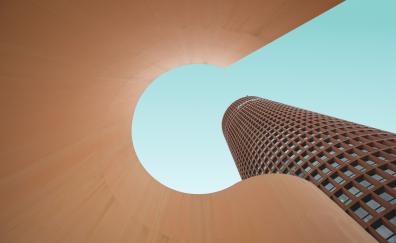 Moder building architecture