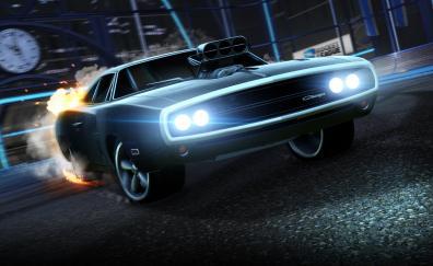 Dodge charger rocket league