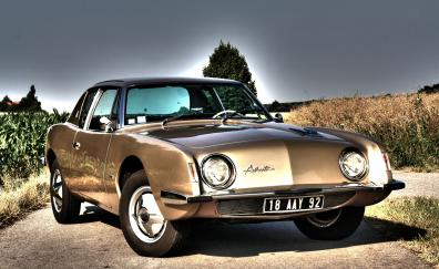 1963 studebaker avanti coupe front