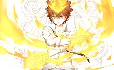 Anime, Tsunayoshi Sawada, blonde