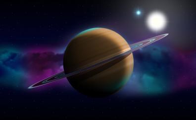 Planet space digital art
