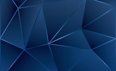 Geometric, surface, triangles, digital art