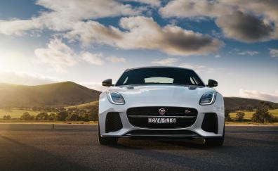 Jaguar f type svr coupe sports car