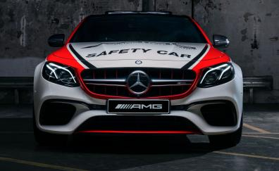 Mercedes amg e63 s 4matic safety car 2018 4k