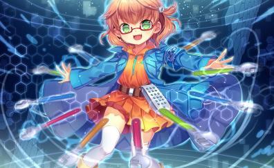 Cute small anime girl original