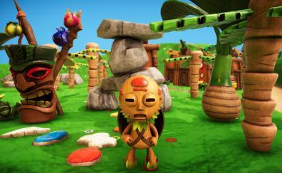 Pixeljunk monsters 2 video game small monster