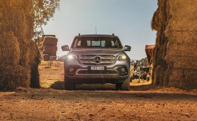 Mercedes benz x 250 d 4matic power 2018 4k