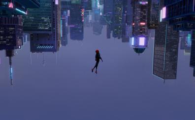Spiderman into the spider verse 2018 movie